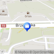 Mapa Yves Rocher Łódź, Polska