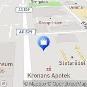 Karta Modemix i Vännäs AB Vännäs, Sverige