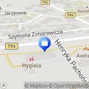 Mapa Apteka Polska. Sp. z o.o. Kraków, Polska
