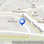 Mapa Sierant L. Biuro usługi Kraków, Polska