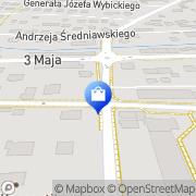 Mapa Apteka Myślenice, Polska