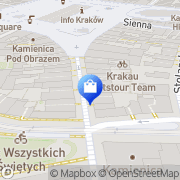 Mapa Yves Rocher Kraków, Polska