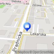 Mapa Apteka im. I. Łukasiewicza Kraków, Polska