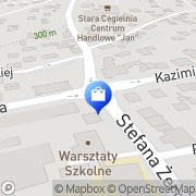 Mapa Apteka PZF Cefarm Myślenice, Polska