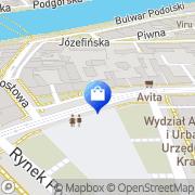 Mapa Apteka Łęg, Polska