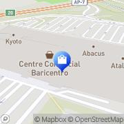 Map Baricentro Barberà del Vallès, Spain