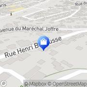 Carte de Fortis Banque Meudon, France