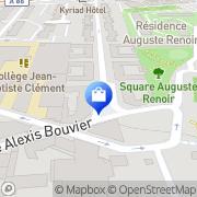Carte de Atelier Du Confiseur Colombes, France