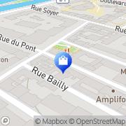 Carte de Le Chambord Neuilly-sur-Seine, France