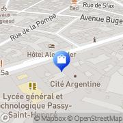 Carte de SFR Paris, France
