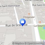 Carte de KLARIS ESTHETIQUE Paris, France
