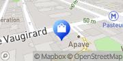 Carte de L'Atelier du Sourcil - Paris 15 Paris, France