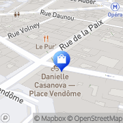 Carte de Vacheron Constantin Paris, France