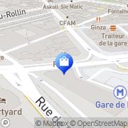 Carte de Rose Paris, France