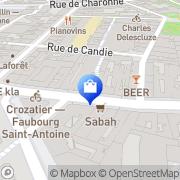 Carte de André Paris, France