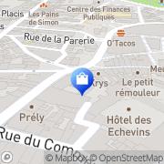 Carte de Géca Bourges, France