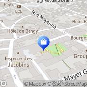 Carte de Brunet Chausseur Bourges, France