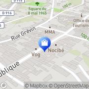 Carte de Frivolités Clermont, France