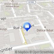 Carte de Fms Pantin, France