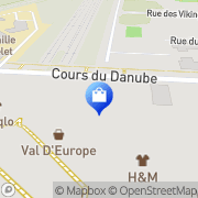 Carte de Primark Serris, France