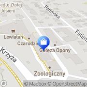 Mapa Sft Computers Kraków, Polska