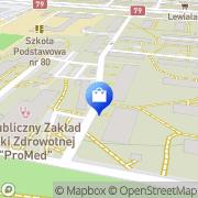 Mapa Apteki Bobilewicz Kraków, Polska