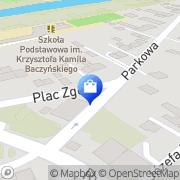 Mapa Apteka Dobczyce, Polska