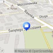 Mapa Apteka Św. Stanisława Skierniewice, Polska