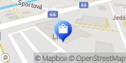 Map Lidl Poprad, Slovakia