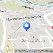 Mapa Musiał Wanda. Kosmetyki Limanowa, Polska