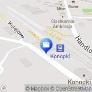 Mapa Sklep wielobranżowy Konopki, Polska