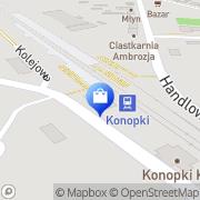 Mapa Piotrowski Janusz. Sprzęt RTV Konopki, Polska