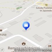 Mapa Apteka Jazowsko, Polska