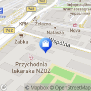 Mapa Apteka Kielce, Polska