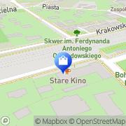 Mapa Zekar. Sp. z o.o. Milanówek, Polska