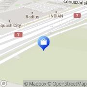 Map Ovo Warsaw, Poland