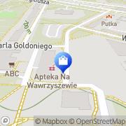 Mapa Apteka na Wawrzyszewie sp.j. Warszawa, Polska