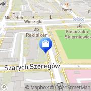 Mapa Pietrak Rafał. Oprogramowanie Warszawa, Polska