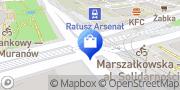 Map Świat Piżam Warsaw, Poland