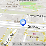 Mapa Apteka 2001 Tarnów, Polska