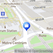 Mapa Trakt Invest Warszawa, Polska