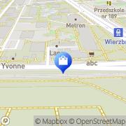 Mapa Apteka na Wierzbnie s.c. Warszawa, Polska