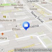 Mapa Deptuła E. Futra Warszawa, Polska