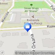 Mapa Go 2 Web SC Warszawa, Polska