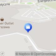 Mapa adidas Outlet Piaseczno, Polska