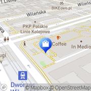 Mapa Komputronik - Warszawa, CH Wileńska Warszawa, Polska