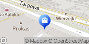 Mapa Radha Shop Warszawa, Polska
