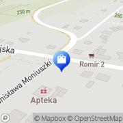 Mapa Apteka Starachowice, Polska