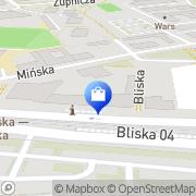 Mapa Apteka Warszawa, Polska