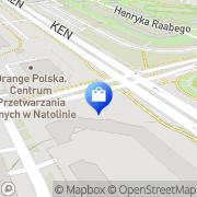Mapa Apteka przy Bażantarni Warszawa, Polska
